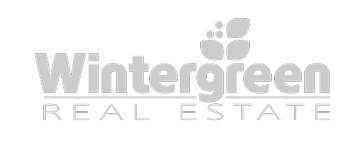 wintergreen real estate logo grayscale