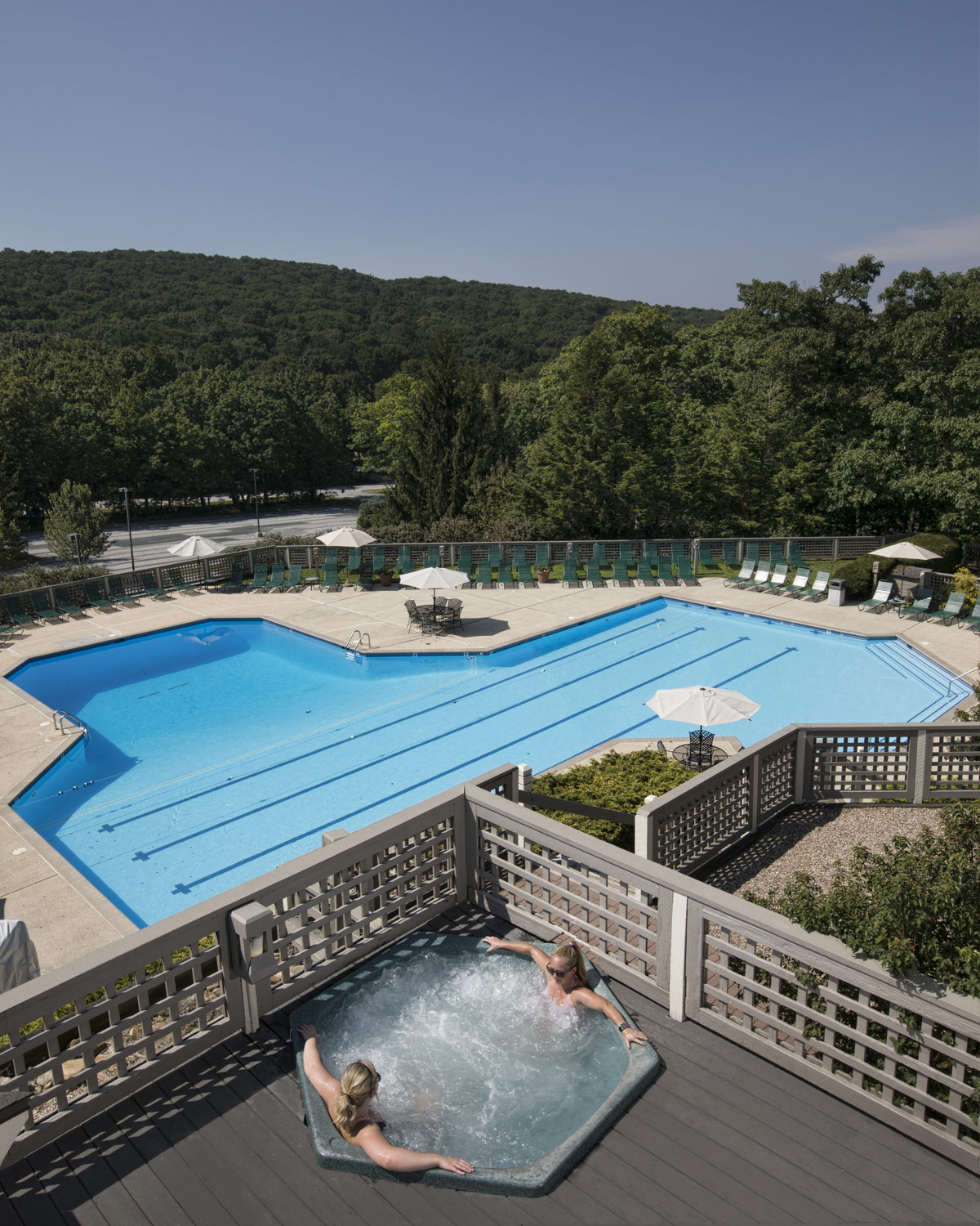 aquatics and fitness outdoor pool