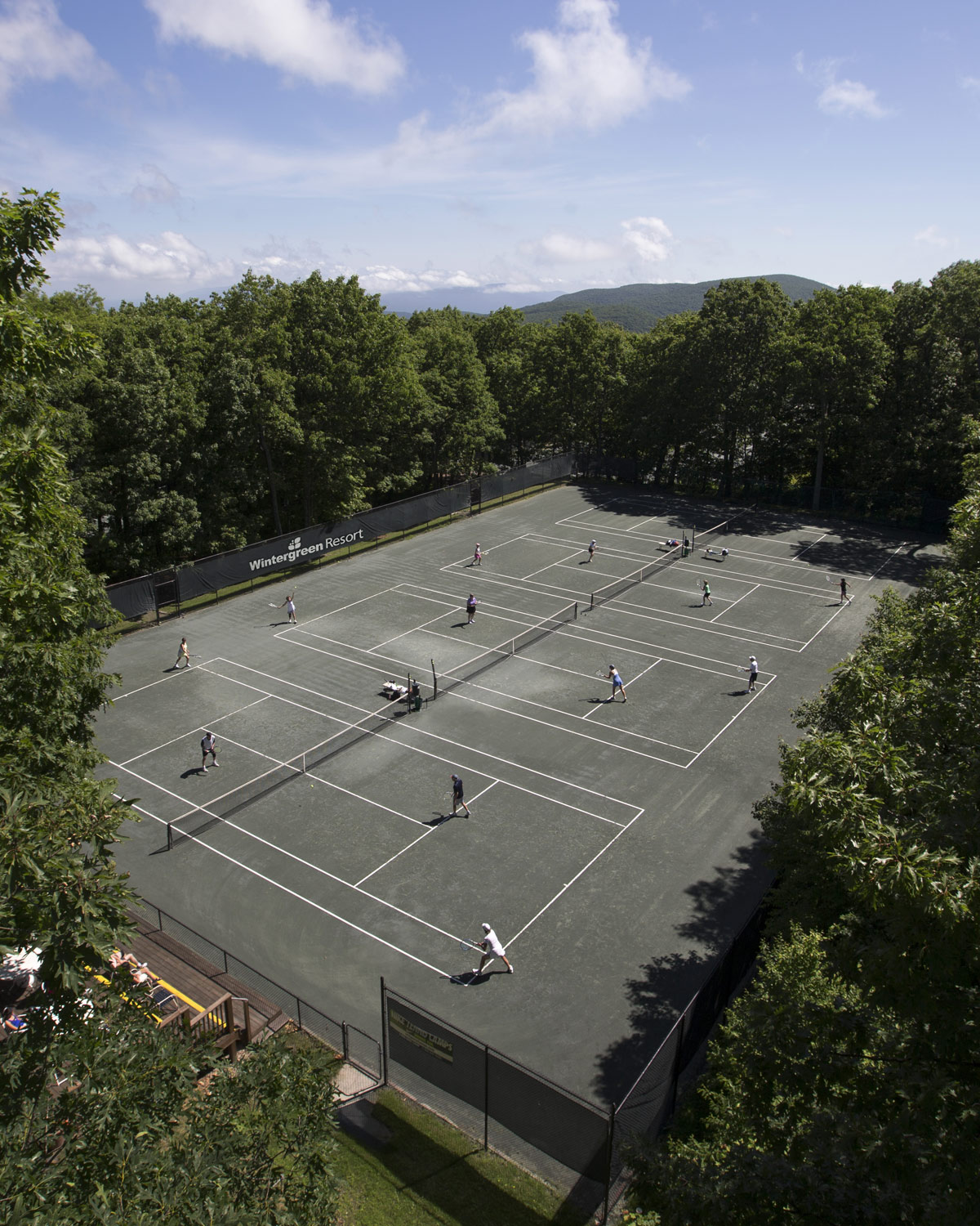devils knob tennis facility outdoor courts