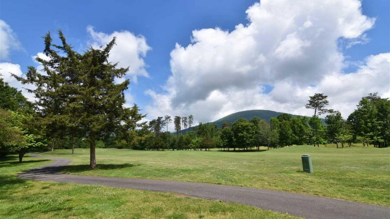 View from a golf course homesite in Wintergreen Resort Stoney Creek Village.