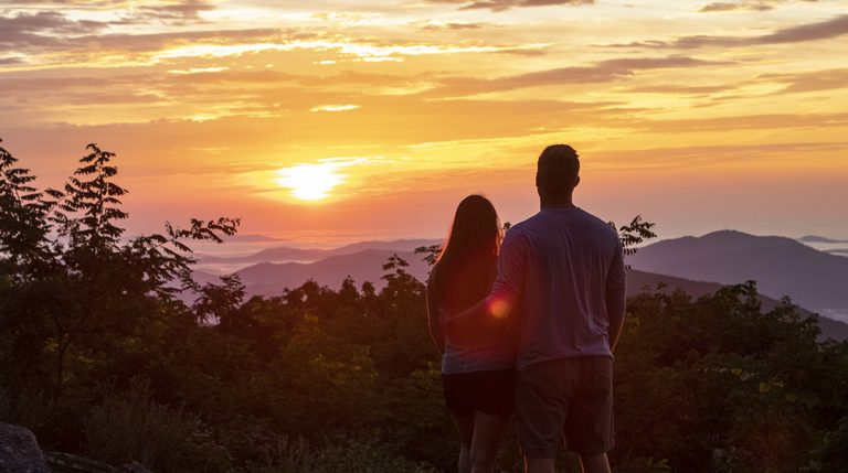 Couple looks forward to another day at Wintergreen
